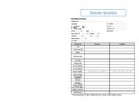 Dossier de candidature – 2021-05